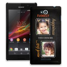 Family Portrait Duo Sony Xperia C ColorStrong Slim-Pro Case