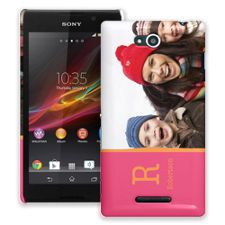Rainbow Sherbet Sony Xperia C ColorStrong Slim-Pro Case