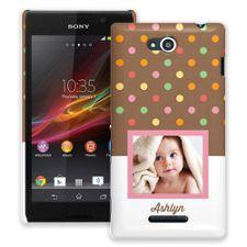 Ice Cream Sundae Sony Xperia C ColorStrong Slim-Pro Case