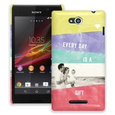 Pastel Bars Sony Xperia C ColorStrong Slim-Pro Case