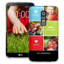 Bright Live Laugh Love LG G2 ColorStrong Slim-Pro Case