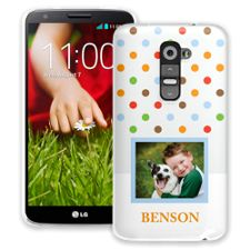 Rainbow Sprinkles LG G2 ColorStrong Slim-Pro Case