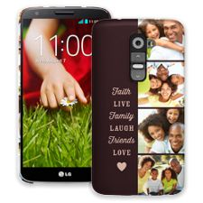 Chocolate Live Laugh Love LG G2 ColorStrong Slim-Pro Case
