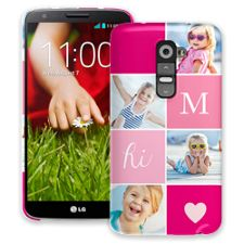 Strawberry Squares LG G2 ColorStrong Slim-Pro Case