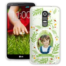 Leaves & Berries LG G2 ColorStrong Slim-Pro Case