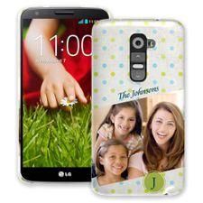 Polka Dot Muslin LG G2 ColorStrong Slim-Pro Case