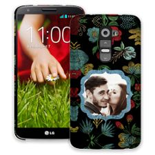Bright Floral on Black LG G2 ColorStrong Slim-Pro Case