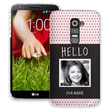 Retro Dots LG G2 ColorStrong Slim-Pro Case