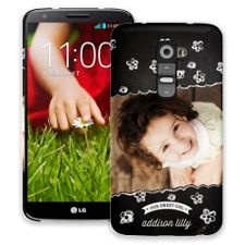 Scratch Art Flowers LG G2 ColorStrong Slim-Pro Case