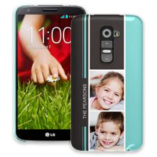 Racing Stripes LG G2 ColorStrong Slim-Pro Case