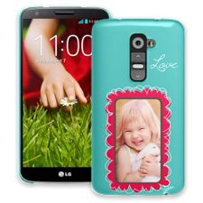 Love Scribbles LG G2 ColorStrong Slim-Pro Case