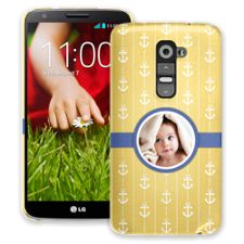 Blue Ribbon Anchors LG G2 ColorStrong Slim-Pro Case