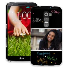 Neon Hello LG G2 ColorStrong Slim-Pro Case