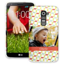 Retro Blocks LG G2 ColorStrong Slim-Pro Case