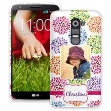 Chrysanthemum Fireworks LG G2 ColorStrong Slim-Pro Case