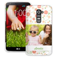 Sweet Floral LG G2 ColorStrong Slim-Pro Case