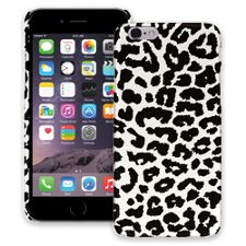 Black and White Leopard iPhone 6 ColorStrong Slim-Pro Case