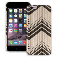 Black Tribal Chevron iPhone 6 ColorStrong Slim-Pro Case