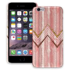 Retro Pink Wood Chevron iPhone 6 ColorStrong Slim-Pro Case
