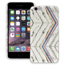 Rainbow Refraction White Wood iPhone 6 ColorStrong Slim-Pro Case