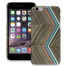 Rainbow Refraction Brown Wood iPhone 6 ColorStrong Slim-Pro Case