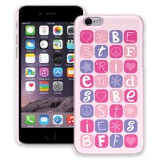 BFF Blocks Pink iPhone 6 ColorStrong Slim-Pro Case