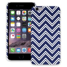 Blue & White Double Chevron iPhone 6 ColorStrong Slim-Pro Case