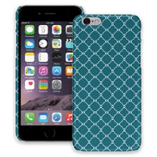 Teal Quatrefoil iPhone 6 ColorStrong Slim-Pro Case