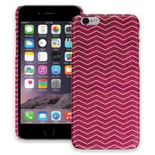 Berry & White Chevron iPhone 6 ColorStrong Slim-Pro Case