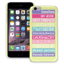 Besties 4Ever iPhone 6 ColorStrong Slim-Pro Case