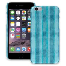 Distressed Blue Stripes iPhone 6 ColorStrong Slim-Pro Case