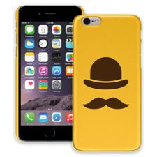Bowler Hat & Mustache iPhone 6 ColorStrong Slim-Pro Case