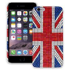 Union Jack Mosaic iPhone 6 ColorStrong Slim-Pro Case