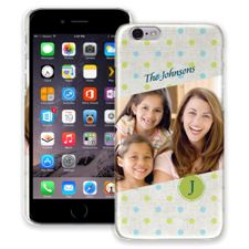 Polka Dot Muslin iPhone 6 ColorStrong Slim-Pro Case