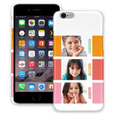 Sherbet Blocks iPhone 6 ColorStrong Slim-Pro Case