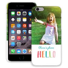 Crayon Hello iPhone 6 ColorStrong Slim-Pro Case