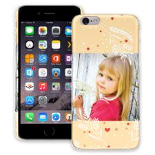 Honey Wheat Heart iPhone 6 ColorStrong Slim-Pro Case