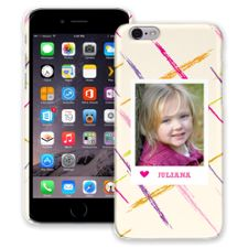 Crayon Splash Pink iPhone 6 ColorStrong Slim-Pro Case