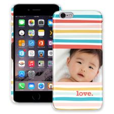 Wavy Stripes iPhone 6 ColorStrong Slim-Pro Case