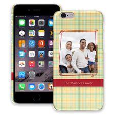 Retro Plaid iPhone 6 ColorStrong Slim-Pro Case