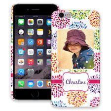 Chrysanthemum Fireworks iPhone 6 ColorStrong Slim-Pro Case