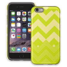 Citrus Clash Chevron iPhone 6 ColorStrong Cush-Pro Case