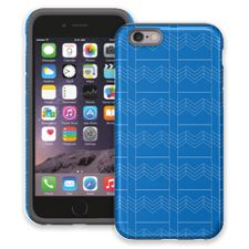Chevron Blueprint iPhone 6 ColorStrong Cush-Pro Case