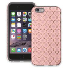 Golden Pink Quatrefoil iPhone 6 ColorStrong Cush-Pro Case