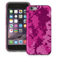 Pink Digital Camouflage iPhone 6 ColorStrong Cush-Pro Case