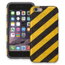 Caution Lines iPhone 6 ColorStrong Cush-Pro Case