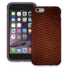 Rusted Steel Chevron iPhone 6 ColorStrong Cush-Pro Case