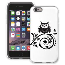 Scrollwork Owl iPhone 6 ColorStrong Cush-Pro Case