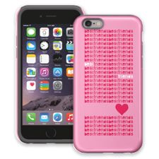 Best Friends & Hearts iPhone 6 ColorStrong Cush-Pro Case