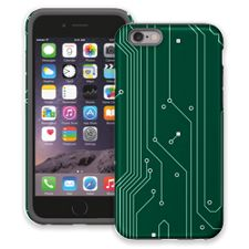 Circuit Board Highway iPhone 6 ColorStrong Cush-Pro Case
